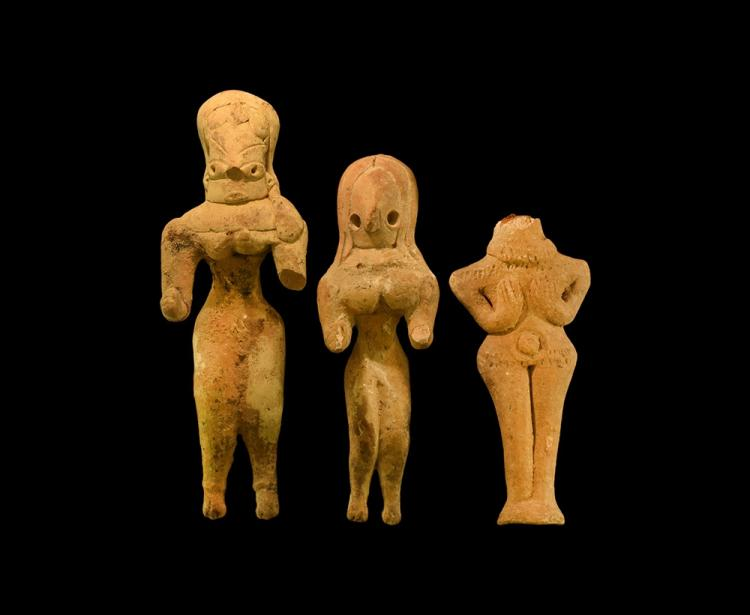 Indus Valley Fertility Idol Group