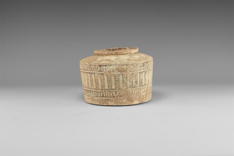 Indus Valley Bichrome Storage Jar