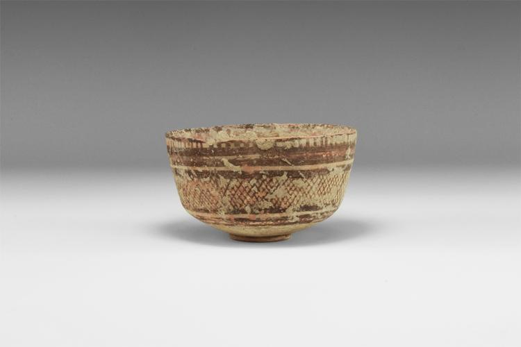 Indus Valley Polychrome Bowl