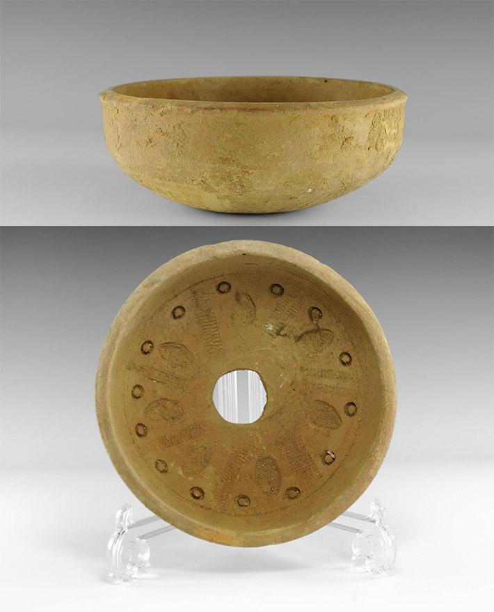 Gandharan Ceramic Bowl Mould