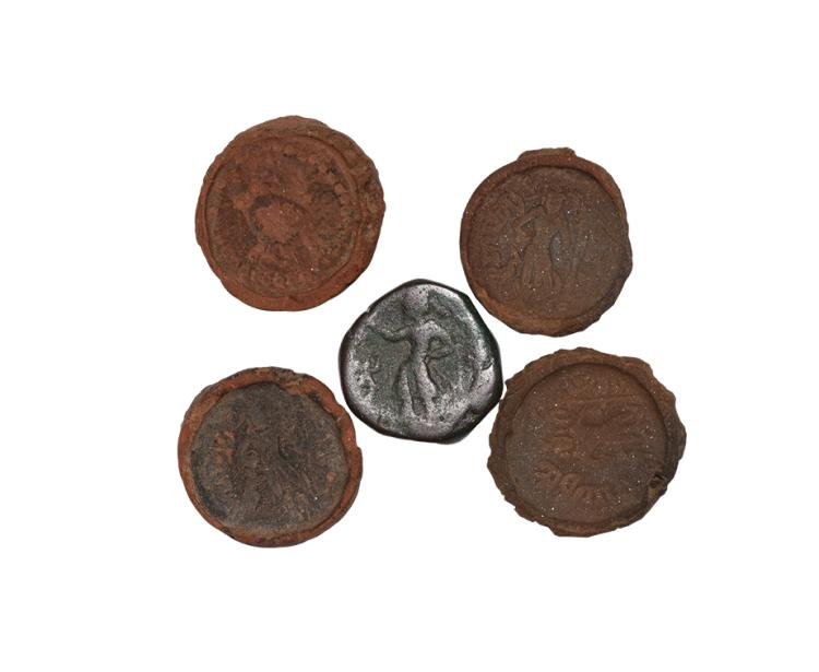 Indian Kushan Coin Mould Group