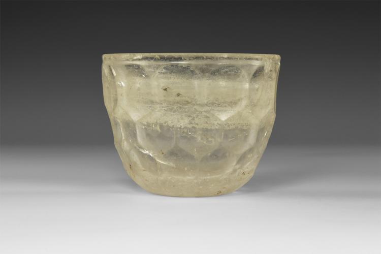 Islamic Cut-Crystal Bowl