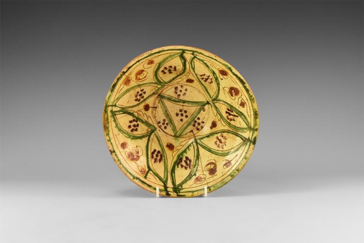 Islamic Nishapur Glazed Bowl