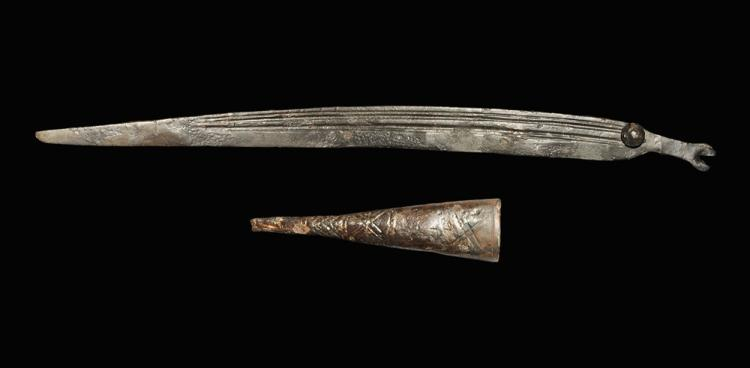 Germanic Knife and Chape