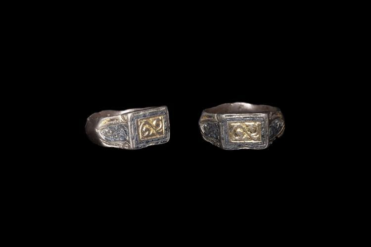 Medieval Gilt Signet Ring