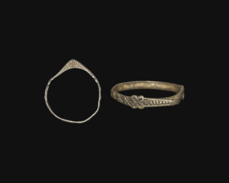 Medieval Decorated Stirrup Ring