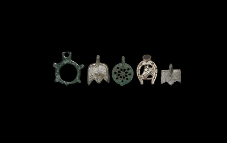 Medieval and Later Horse Pendant Collection