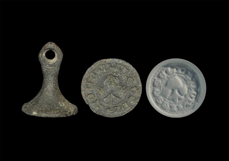 Medieval Seal Matrix Inscribed 'I am the Seal of Love'