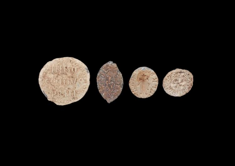 Medieval Seals & Innocent III Bulla Group