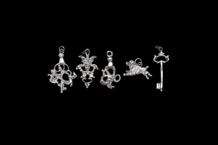 Post Medieval Italian Witch Charm Group