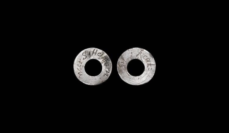 Post Medieval Vervel Hawking Ring