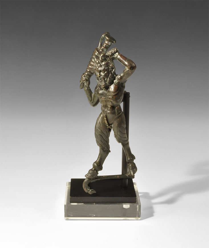 Post Medieval Renaissance Statuette of a Satyr