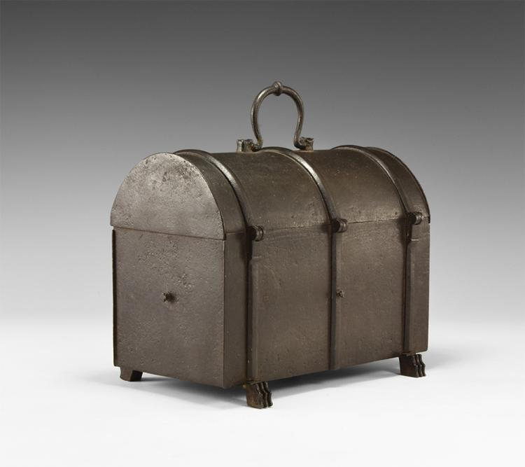 Post Medieval Iron Casket