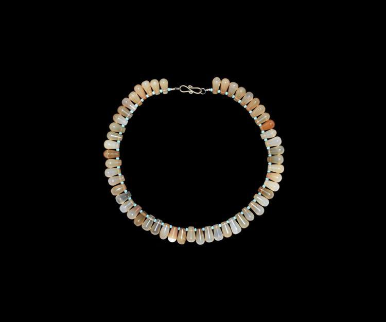 Post Medieval European Designer Bead Necklace