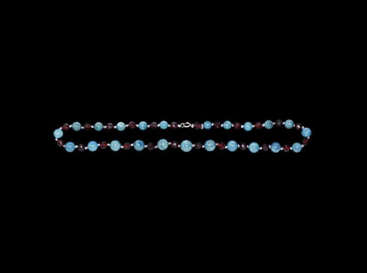 Post Medieval Designer Bead Necklace