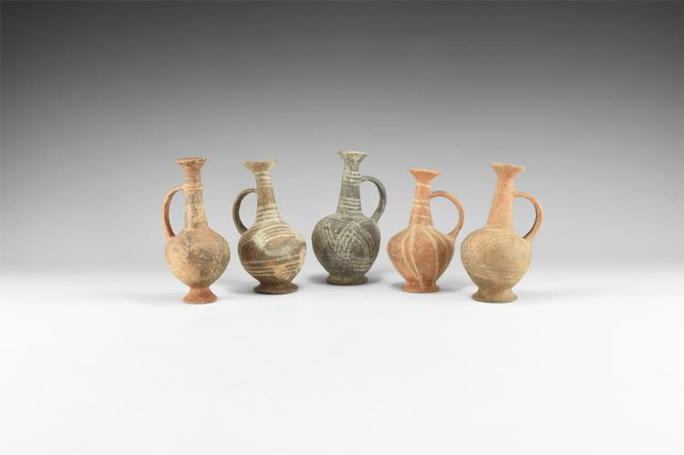 Western Asiatic Handled Vase Group