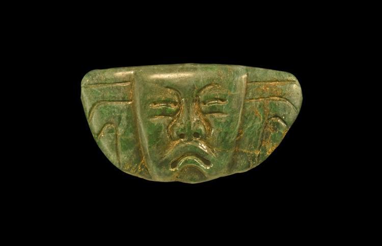 Pre-Columbian Olmec Mask Pendant