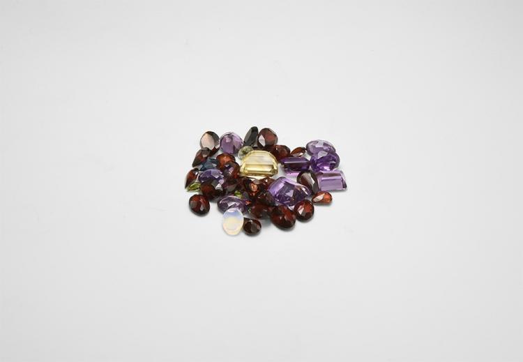 Natural History - 57 Carats of Mixed Gemstones.