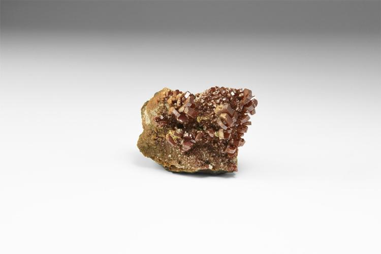 Natural History - Vanadinite Mineral Specimen.