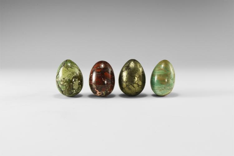 Natural History - Gemstone Egg Group.