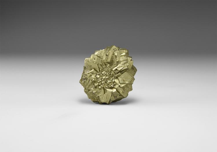 Natural History - Pyrite 'Sun' Mineral Specimen.