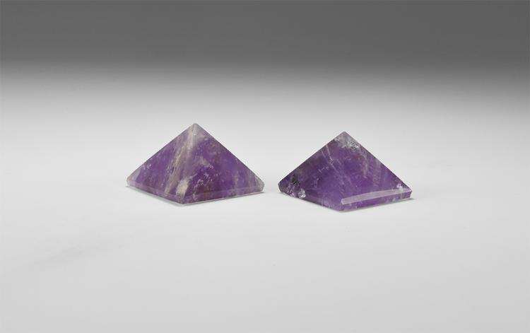Natural History - Amethyst Pyramid Group.