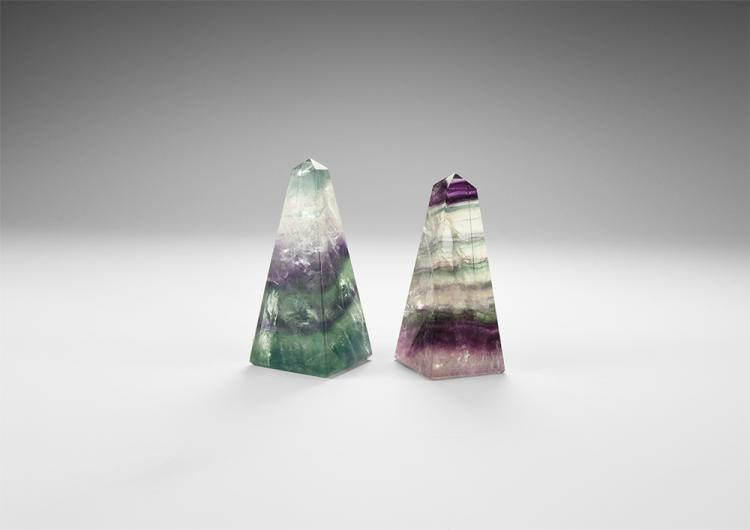 Natural History - Fluorite Obelisk Group.