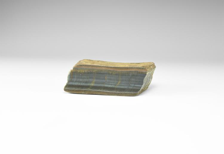 Natural History - Blue Tigers Eye Polished Block.