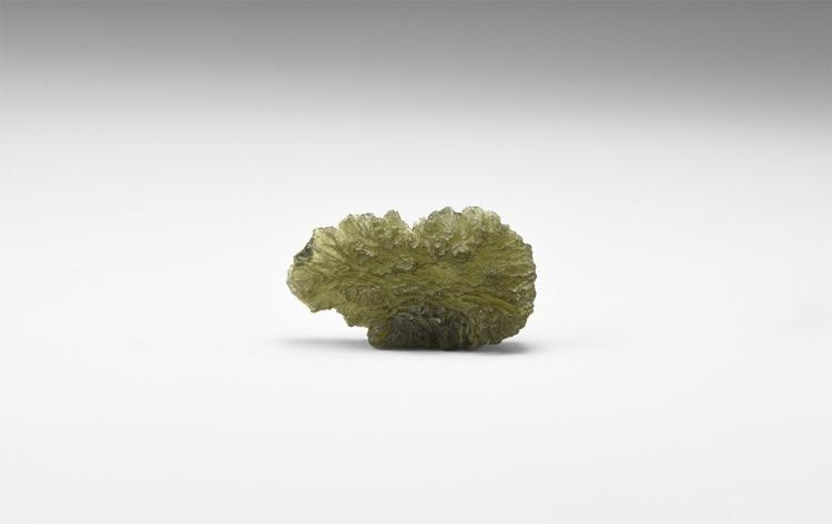 Natural History - Moldavite Mineral Specimen.