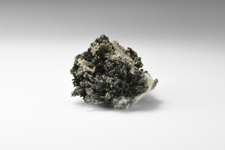 Natural History - Stibnite Mineral Specimen.
