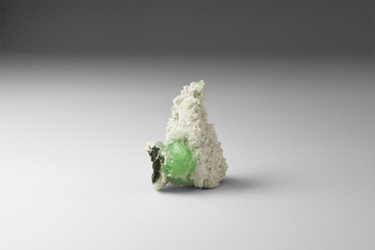 Natural History - Apophyllite Mineral Specimen.