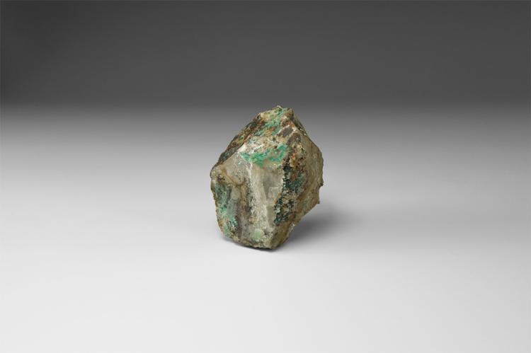 Natural History - Spangolite Mineral Specimen.
