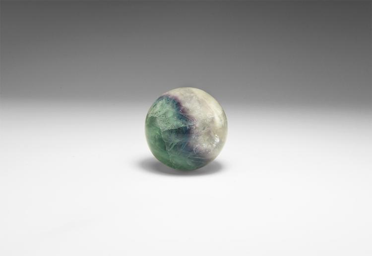Natural History - Fluorite Polished Sphere.