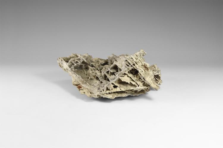 Natural History - 'Skeletal' Chalcedony Mineral Specimen.