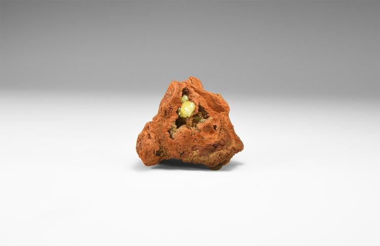 Natural History - Adamite Mineral Specimen.