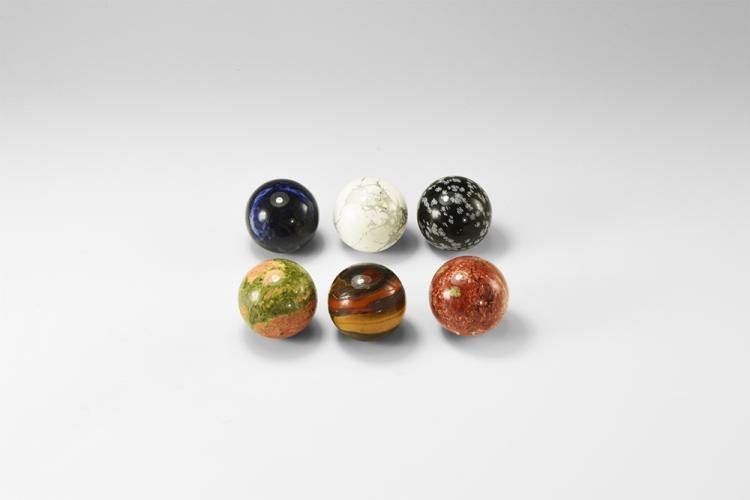 Natural History - Gemstone Spheres Group.