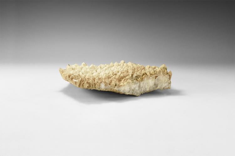 Natural History 'Frosted' Quartz Mineral Specimen.