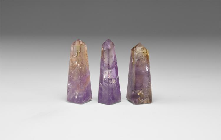 Natural History - Ametrine Obelisk Group.
