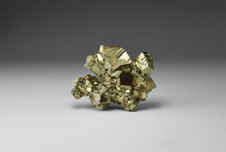 Natural History - Pyrite Mineral Specimen.