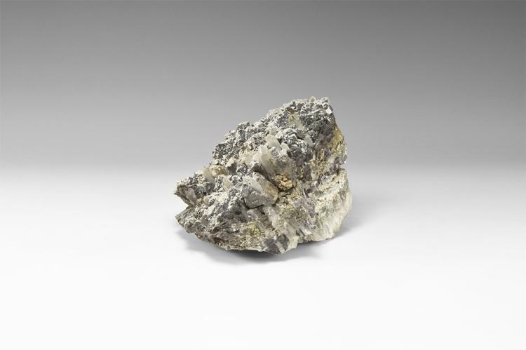 Natural History Quartz and Sphalerite Mineral Specimen.
