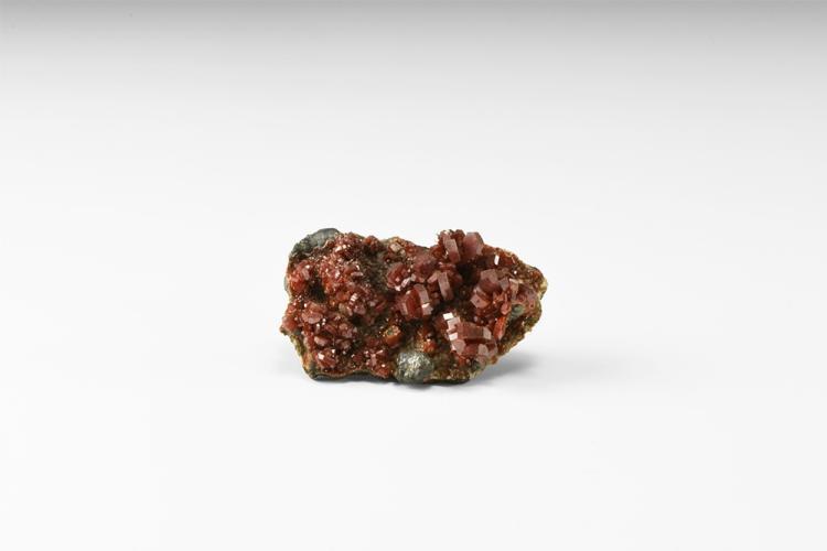 Natural History - Vanadinite Mineral Specimen.