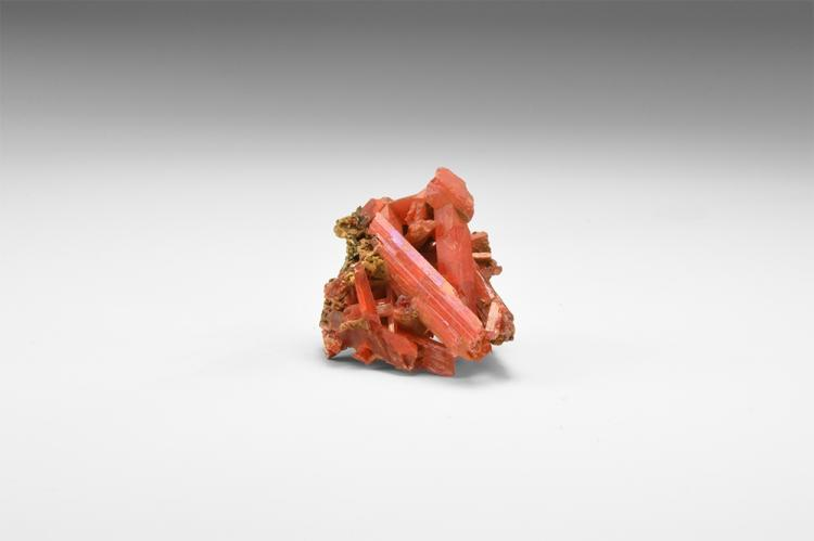 Natural History - Crocoite Mineral Specimen.