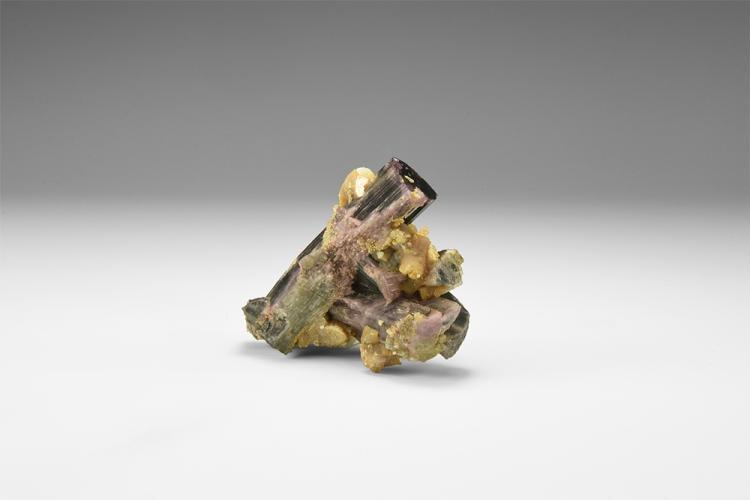 Natural History - Tourmaline Mineral Specimen.