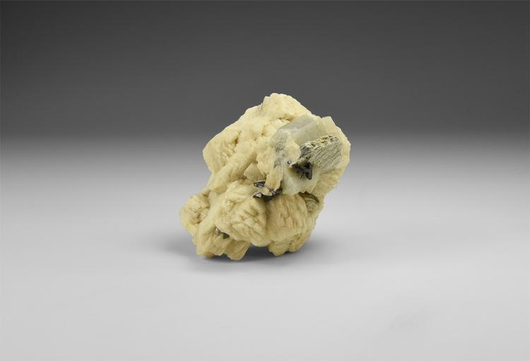 Natural History - Columbite with Beryl Mineral Specimen.