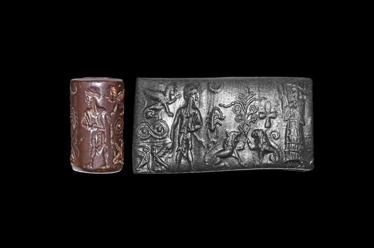 Western Asiatic Old Babylonian Period Cylinder Seal