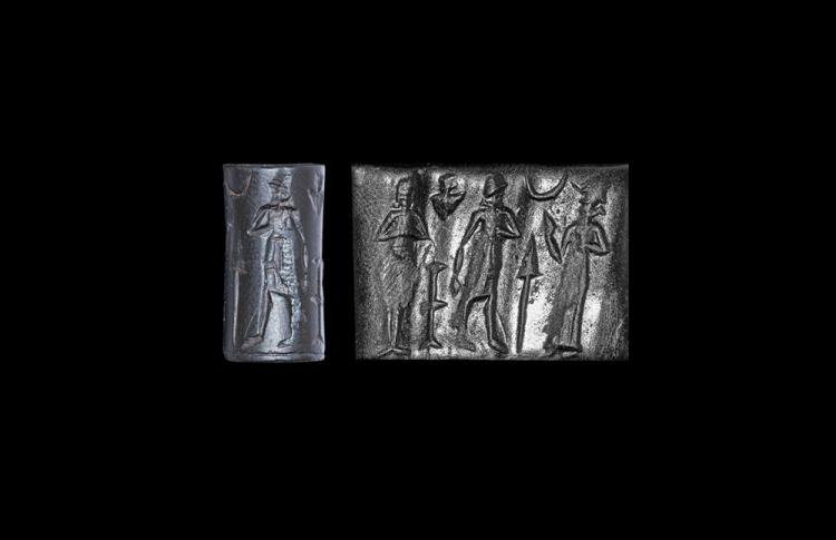 Western Asiatic Old Babylonian Cylinder Seal