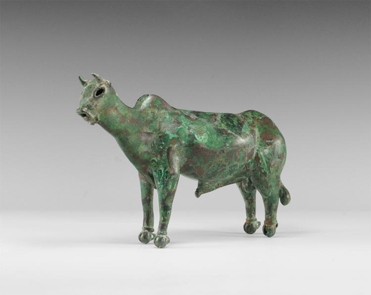 Western Asiatic Standing Bull Statuette