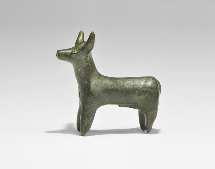 Western Asiatic Hittite Bull Figurine