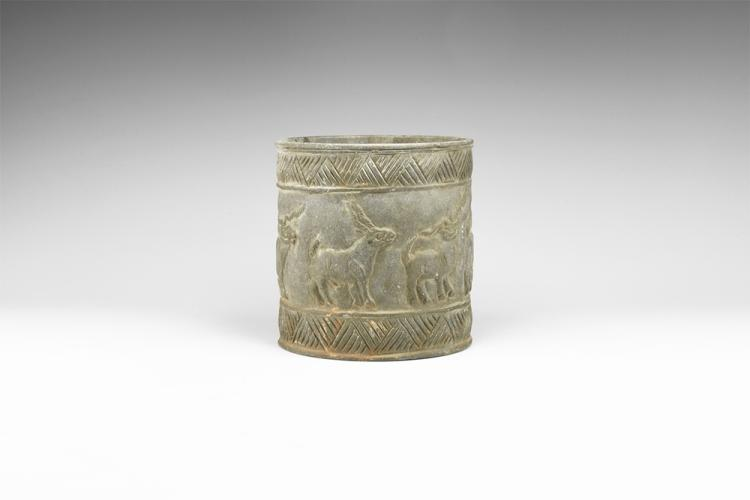 Western Asiatic Bactrian Jar with Animal Procession