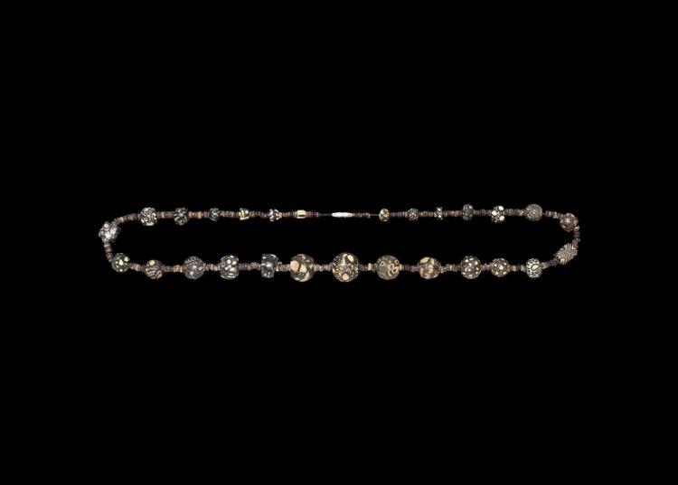 Western Asiatic Sassanian Millefiori Bead Necklace
